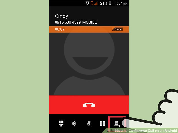 How to Conference Call on an Android 11 Steps (with Pictures)