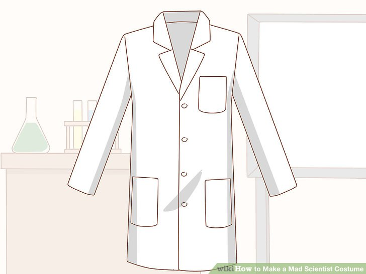 How to Make a Mad Scientist Costume 13 Steps (with Pictures)