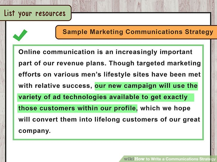 How to Write a Communications Strategy (with Sample Strategies) - communication strategy