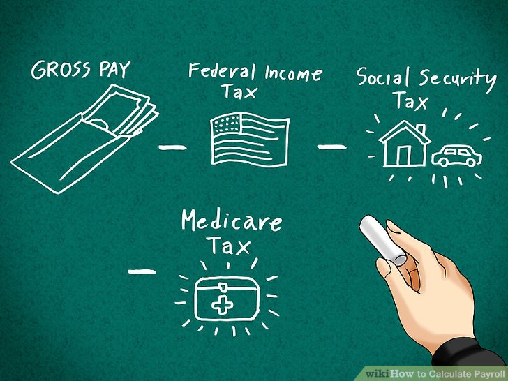 How to Calculate Payroll 10 Steps (with Pictures) - wikiHow - payroll tax calculator nyc