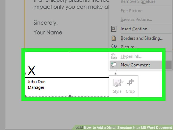 3 Simple Ways to Insert a Digital Signature in a Word Document