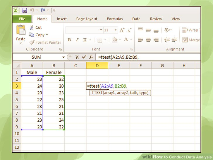 How to Conduct Data Analysis (with Pictures) - wikiHow - data analysis format