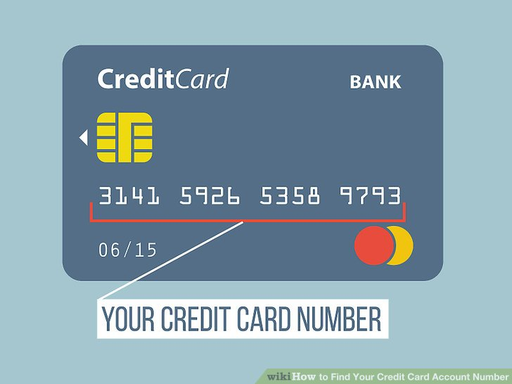 How to Find Your Credit Card Account Number 7 Steps