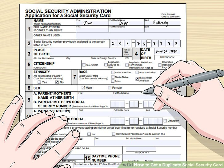 4 Ways to Get a Duplicate Social Security Card - wikiHow