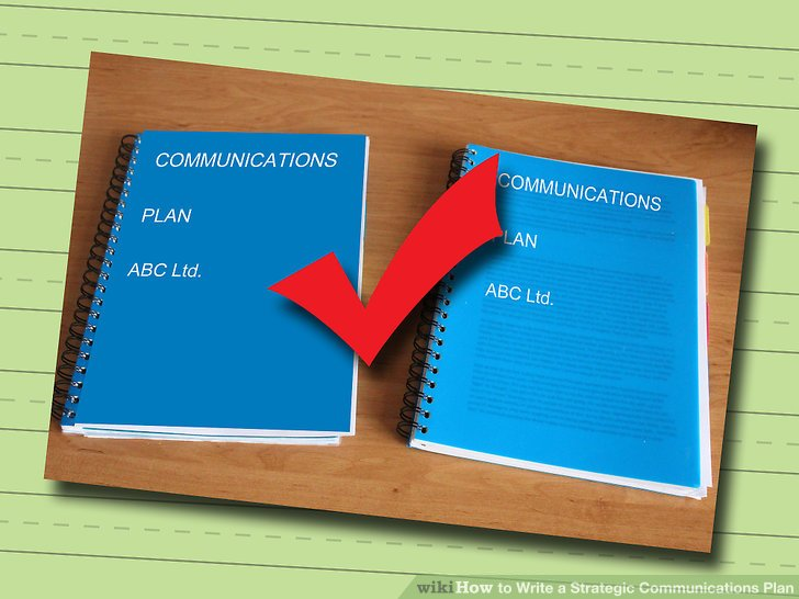 How to Write a Strategic Communications Plan 8 Steps