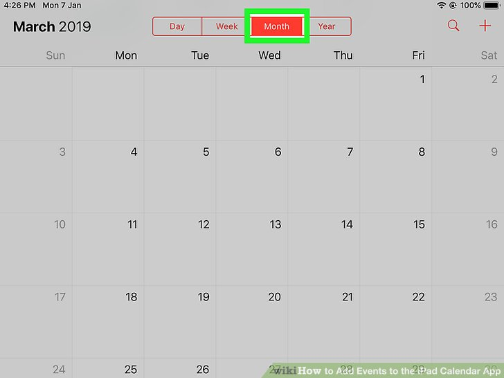 3 Ways to Add Events to the iPad Calendar App - wikiHow