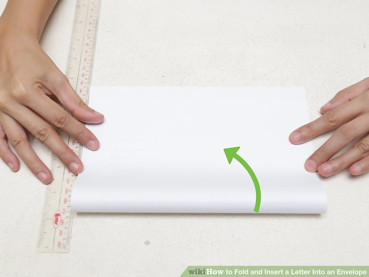 The 3 Best Ways to Fold and Insert a Letter Into an Envelope