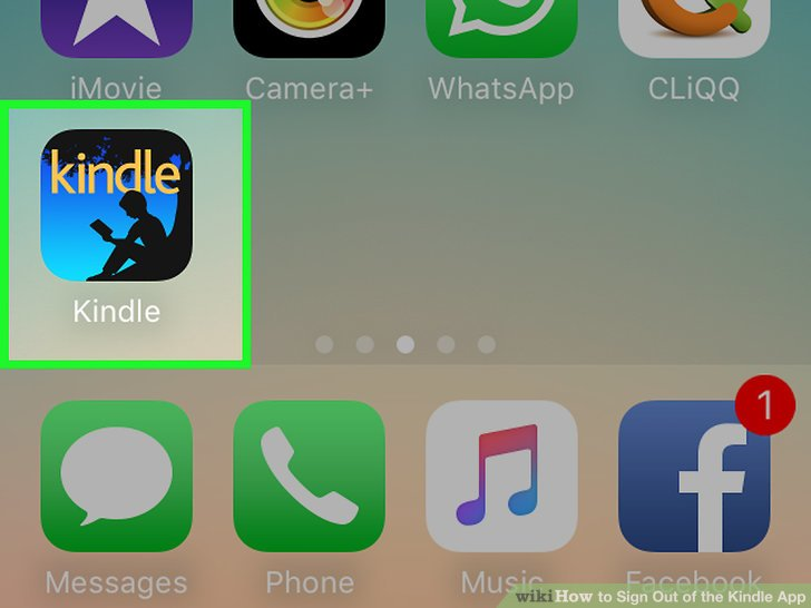 3 Ways to Sign Out of the Kindle App - wikiHow