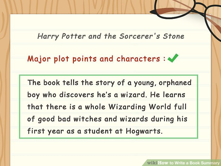 How to Write a Book Summary (with Sample Summaries) - wikiHow - executive summaries books