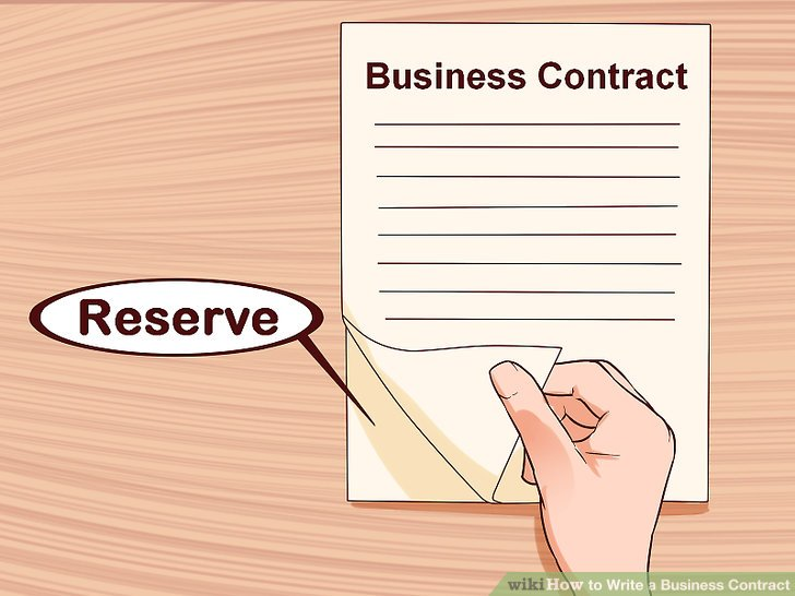 How to Write a Business Contract 15 Steps (with Pictures)