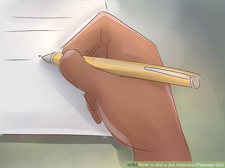 How to Ace a Job Interview (Teenage Girls) 12 Steps