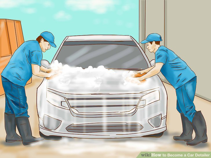 How to Become a Car Detailer 12 Steps (with Pictures) - wikiHow