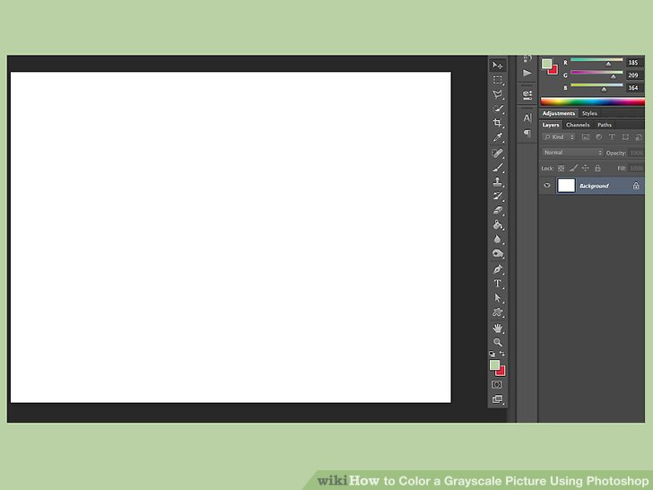 How to Color a Grayscale Picture Using Photoshop 14 Steps
