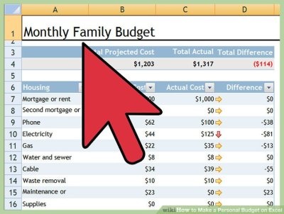 How to Make a Personal Budget on Excel (with Pictures) - wikiHow