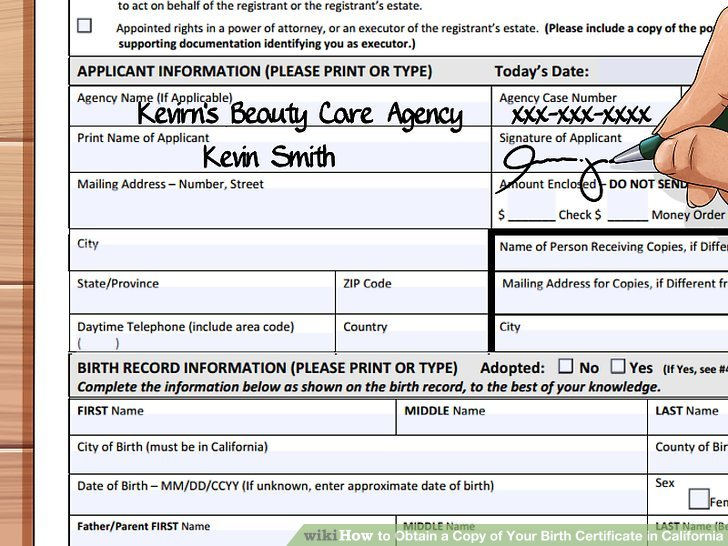 How to Obtain a Copy of Your Birth Certificate in California - best of alameda county birth records