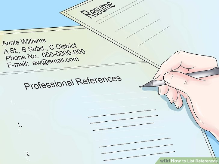 5 Ways to List References - wikiHow