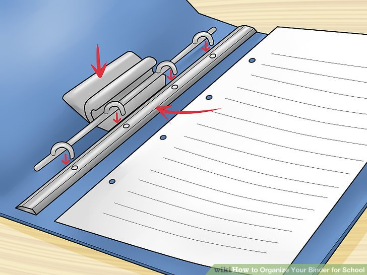 How to Organize Your Binder for School 14 Steps (with Pictures)