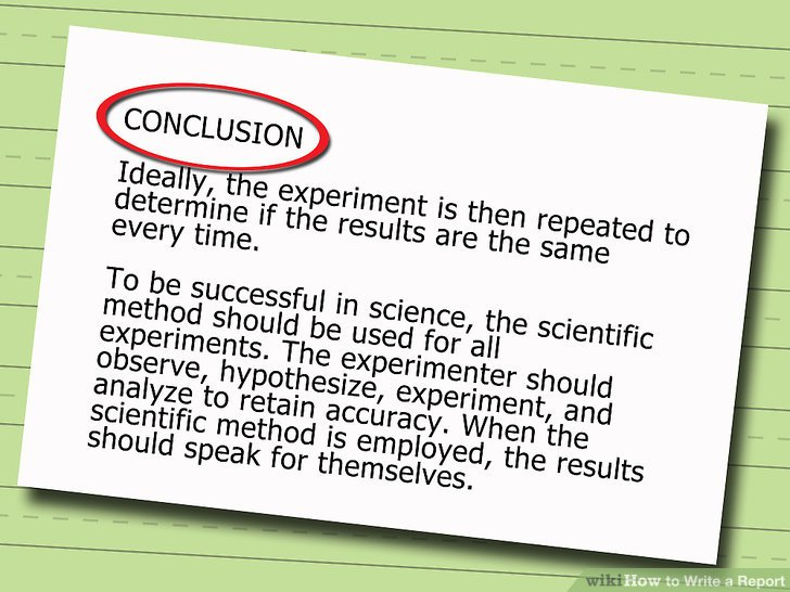 How to Write a Report (with Pictures) - wikiHow