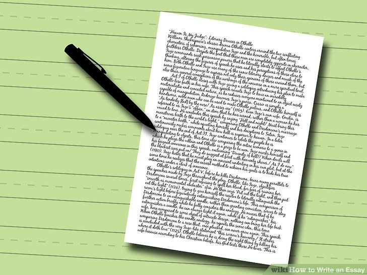 essays writing how to write an essay pictures wikihow essay writing