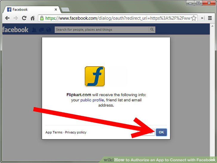 How to Authorize an App to Connect with Facebook 11 Steps