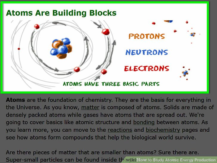 How to Study Atomic Energy Production 9 Steps (with Pictures)