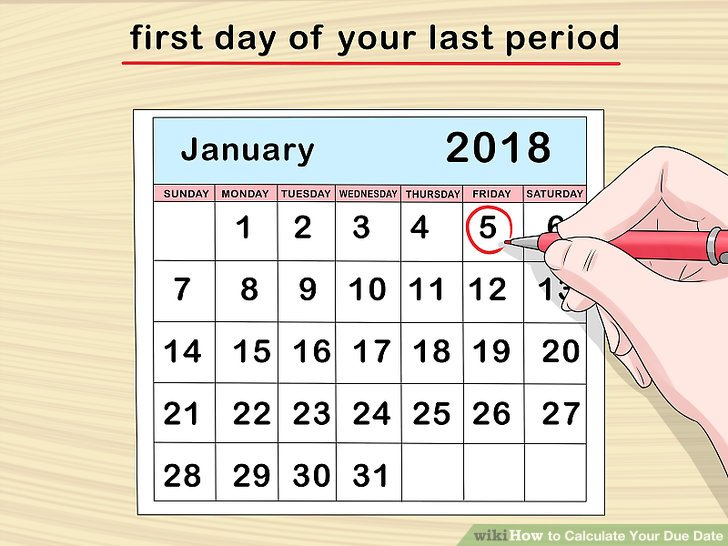 3 Ways to Calculate Your Due Date - wikiHow - Plan Pregnancy Calculator