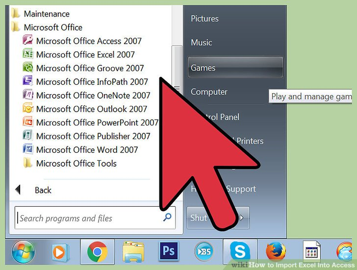 How to Import Excel Into Access 8 Steps (with Pictures) - wikiHow