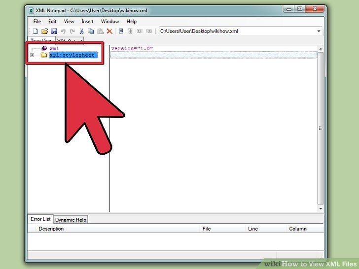 how to view xsl files