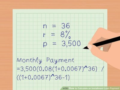 3 Ways to Calculate an Installment Loan Payment - wikiHow