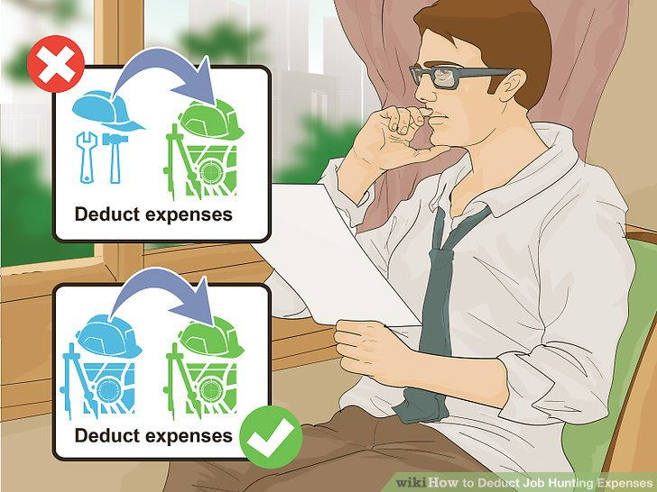 How to Deduct Job Hunting Expenses 13 Steps (with Pictures)