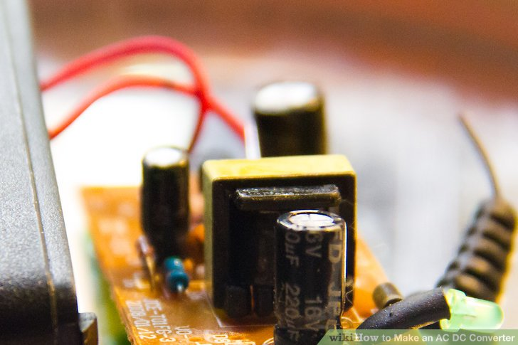How to Make an AC DC Converter 5 Steps (with Pictures) - wikiHow