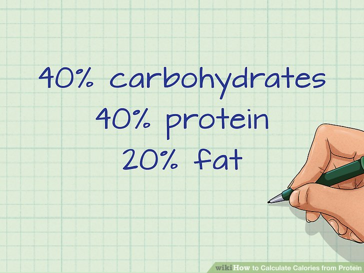 How to Calculate Calories from Protein 9 Steps (with Pictures) - how to calculate the percentage of calories from fat