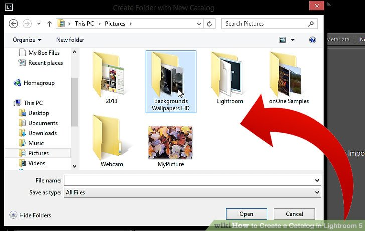 How to Create a Catalog in Lightroom 5 5 Steps (with Pictures)