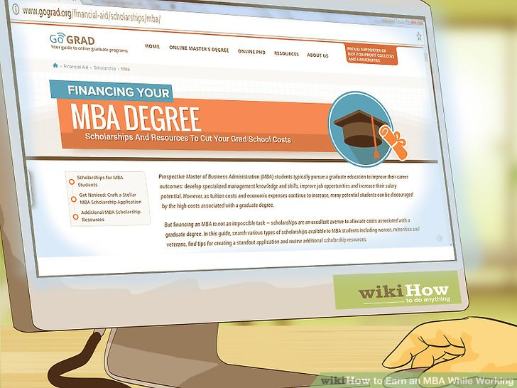 How to Earn an MBA While Working (with Pictures) - wikiHow