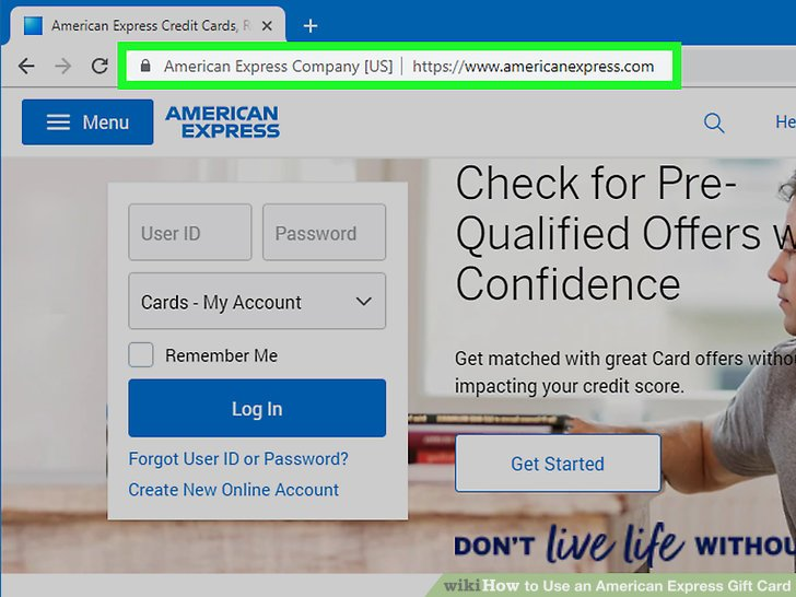 3 Ways to Use an American Express Gift Card - wikiHow