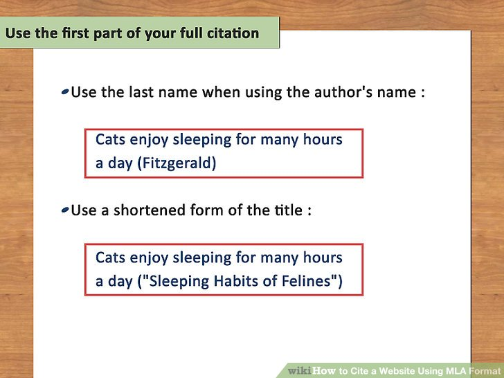 How to Cite a Website Using MLA Format 15 Steps (with Pictures)