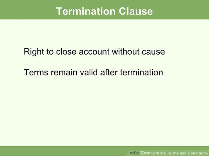 contract termination letter on good terms how to terminate a contract with sample termination letters termination - Sample Termination Letter Without Cause