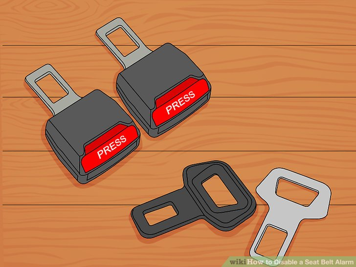 How to Disable a Seat Belt Alarm 6 Steps (with Pictures)