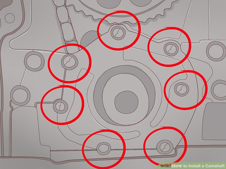 How to Install a Camshaft 14 Steps (with Pictures) - wikiHow