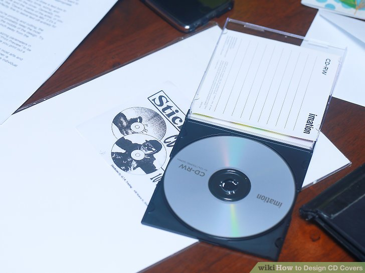 3 Ways to Design CD Covers - wikiHow