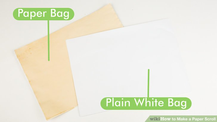 How to Make a Paper Scroll 13 Steps (with Pictures) - wikiHow