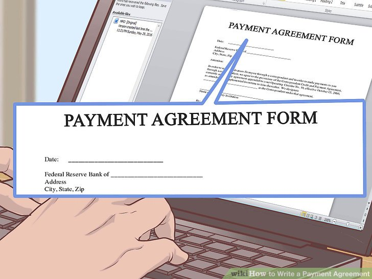 4 Simple Ways to Write a Payment Agreement - wikiHow - legal promise to pay document