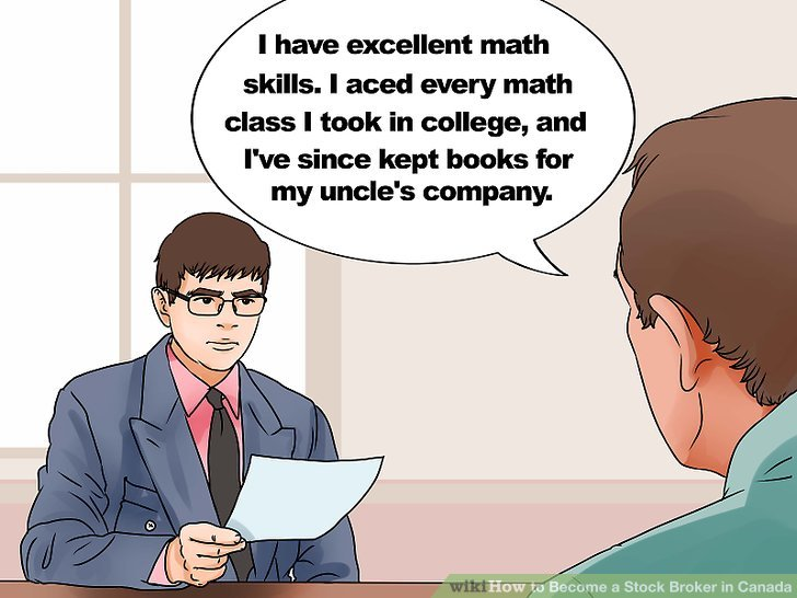 How to Become a Stock Broker in Canada (with Pictures) - wikiHow