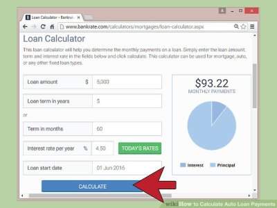 How to Calculate Auto Loan Payments (with Pictures) - wikiHow