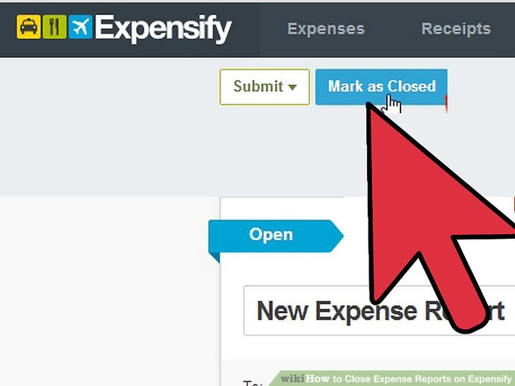 How to Close Expense Reports on Expensify 7 Steps (with Pictures)