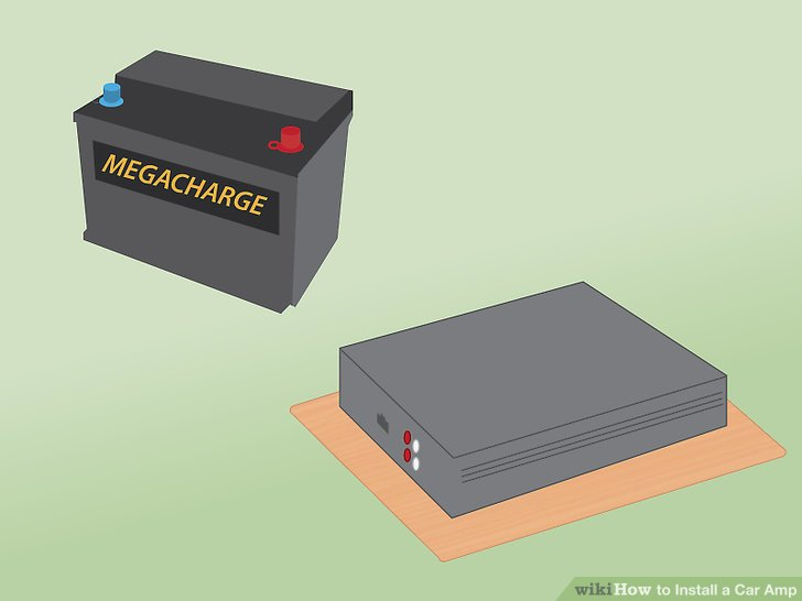 How to Install a Car Amp (with Pictures) - wikiHow