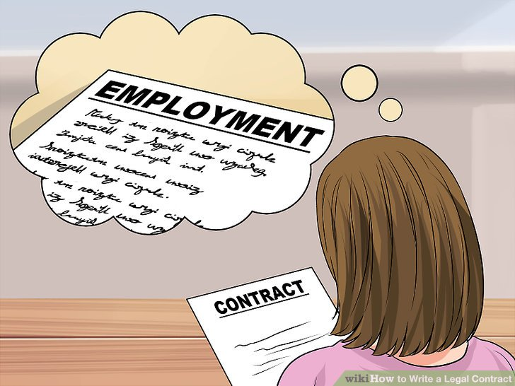 Lawyer-Approved Advice on How to Write a Legal Contract - wikiHow - legal contract