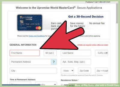 How to Pay Sallie Mae with a Credit Card: 13 Steps (with Pictures)