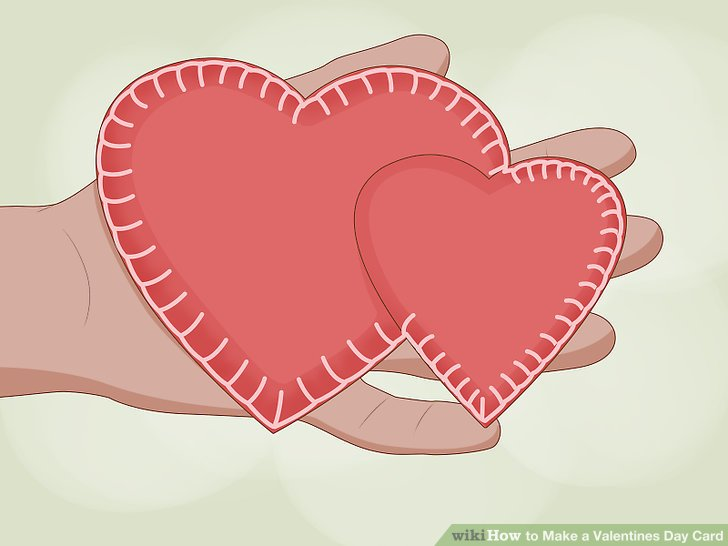 4 Ways to Make a Valentines Day Card - wikiHow