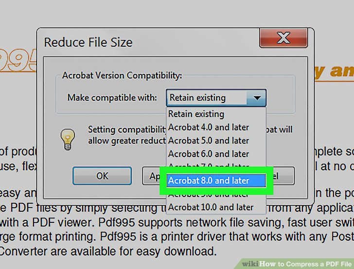 3 Ways to Compress a PDF File - wikiHow